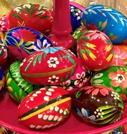 Polish Pisanki (wooden Easter eggs)