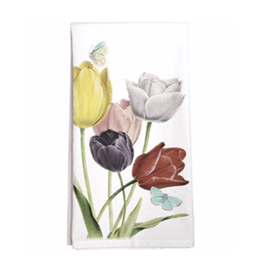 Tulips Single Towel