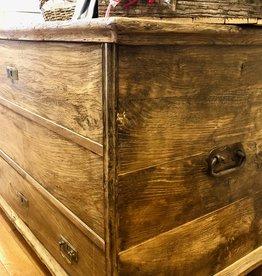 Trunk I - Original Oak - Circa 1880
