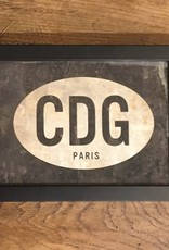 Spicher & Company CDG Paris - Framed Picture