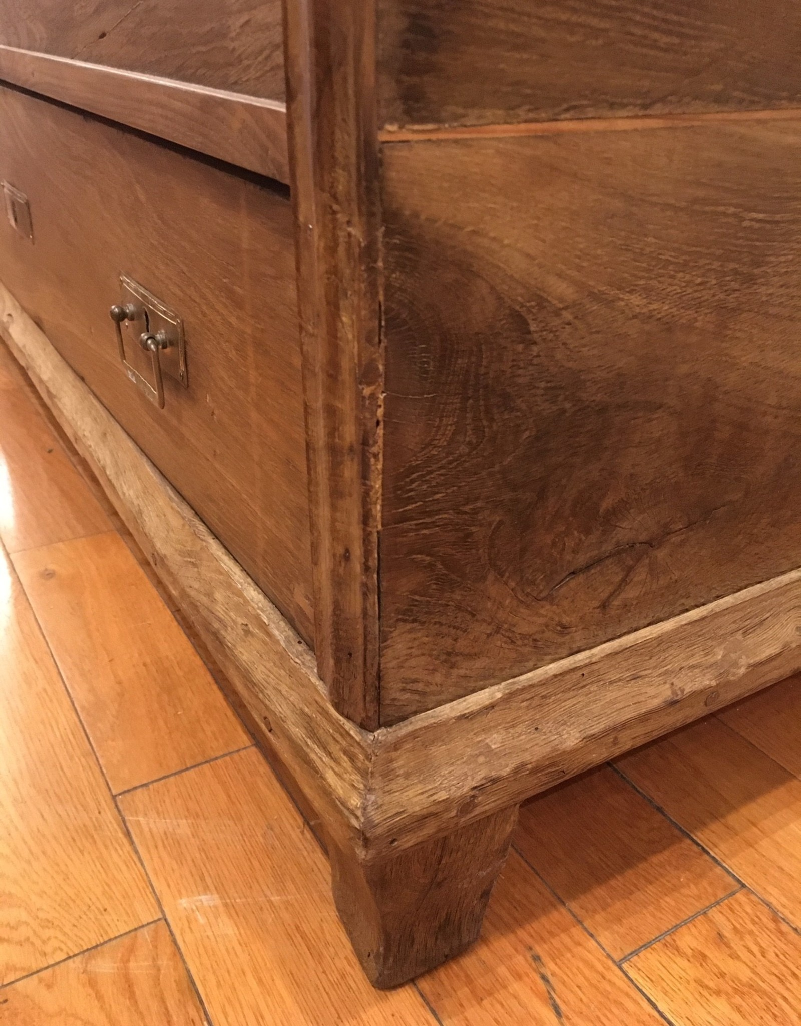 Trunk I - Original Oak - Circa 1880