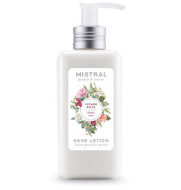 Lychee Rose Hand Lotion 10 oz. - Mistal Signature Collection