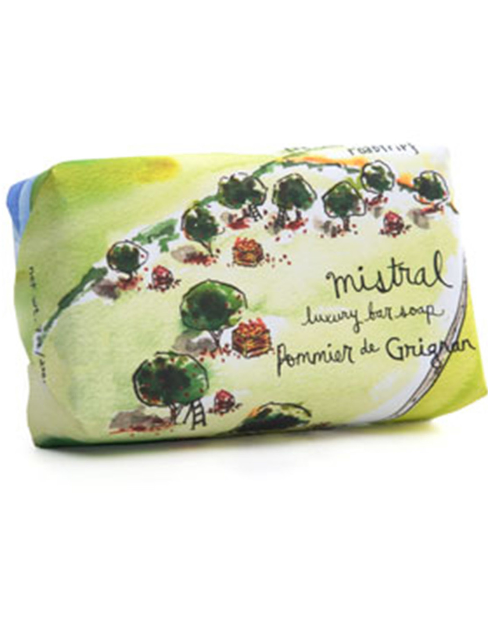 Mistral Grignan Apple Soap - Provence Road Trip Soap