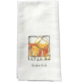 Towel - Bourbon Rocks