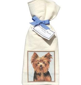 Yorkie Towel Set