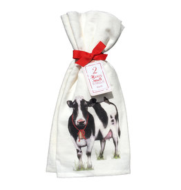 Farmhouse Cow Towel Set