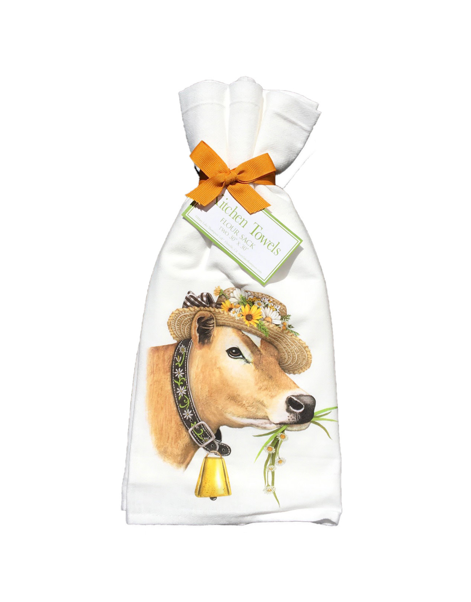 Daisy Cow Towel Set