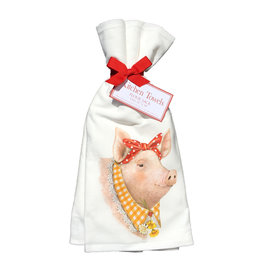 Daisey Pig Towel Set