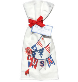 USA Banner Towel Set