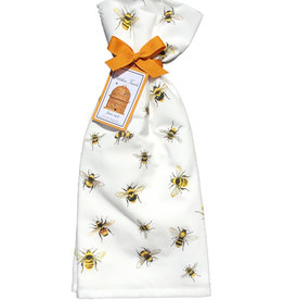 Scattered Bee Towel Set