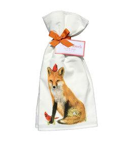 Fox Spring Towel Set