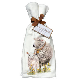 Sheep Spring Towel Set