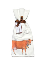 Brown Cow Towel Set