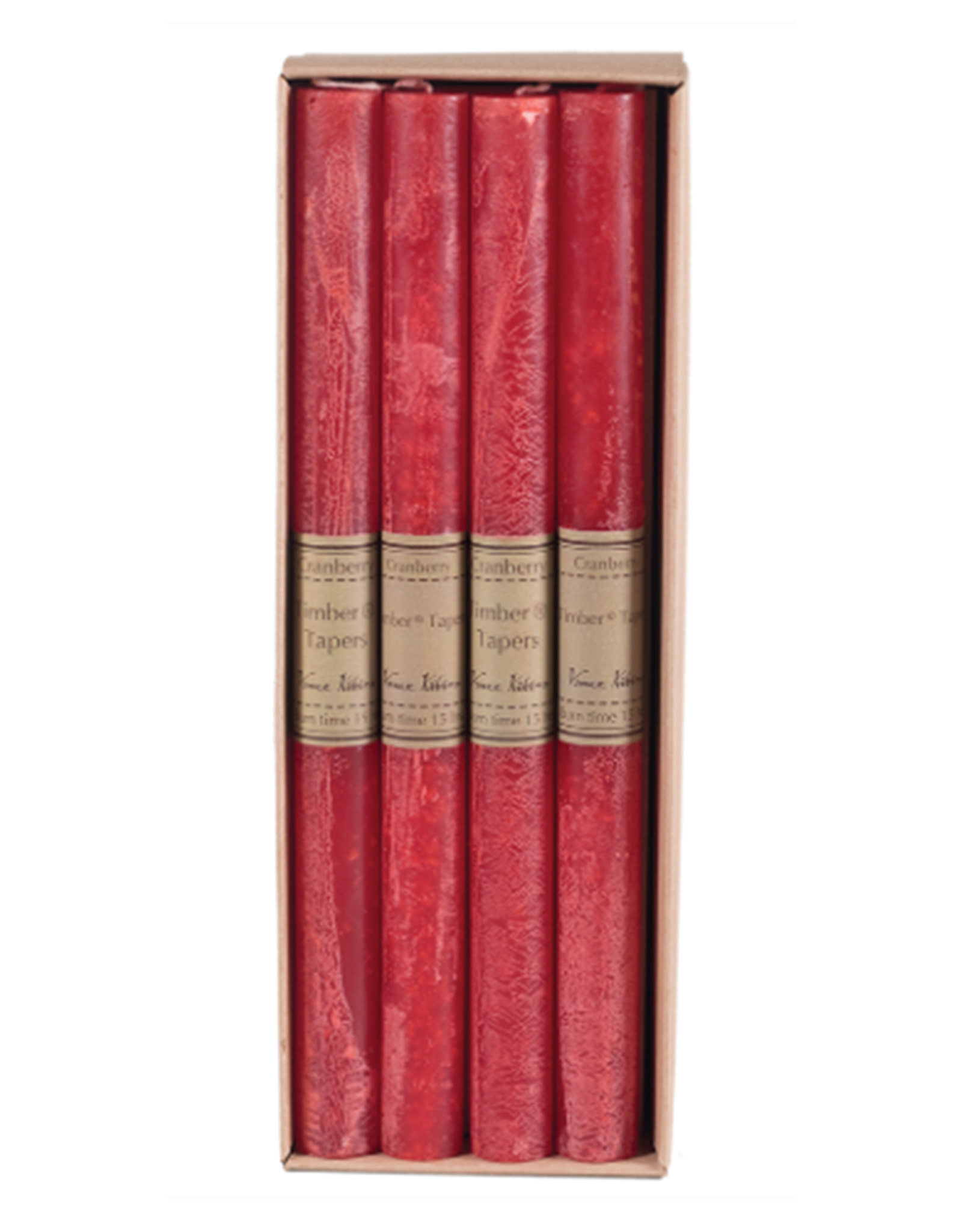 Timber Tapers Single - Cranberry