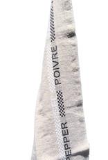 "Charvet Editions - Pepper & Salt Bistro/Tea Towel - 18""x 30"""