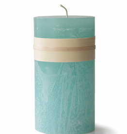 Timber Candle - 3.25 x 6 - Sea Foam - Vance Kitira