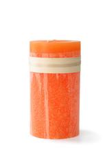 Timber Candle 3.25x9 - Tangerine -  Vance Kitira