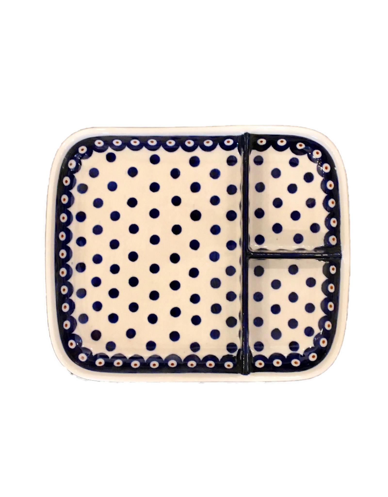Divided Dish - Dots