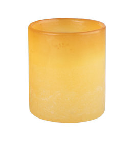 Aura Luminary - Yellow - 4.25 x 4.75