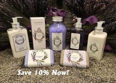 Mistral Soap Lotion & Fragrance