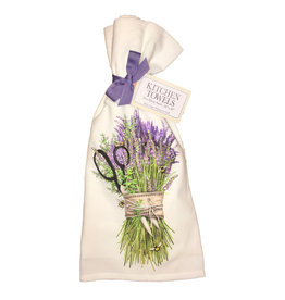 Lavender Shears Bundle Towel Set