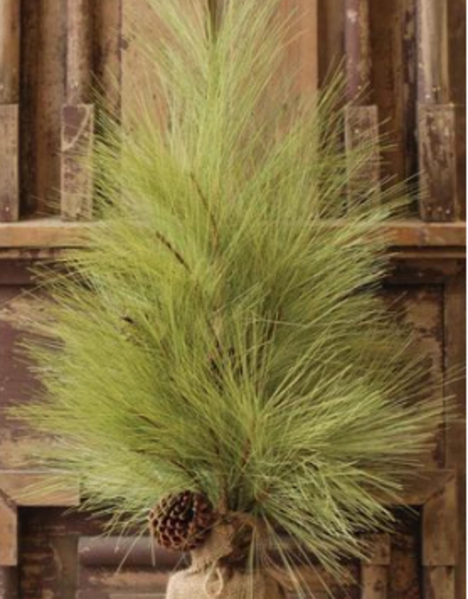 """Long Needle Pine Tree w/Cone - 30"""""""