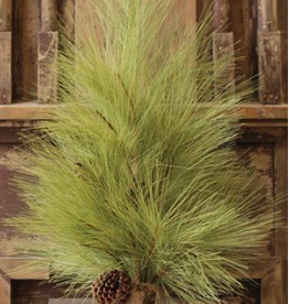 Long Needle Pine Tree w/Cone - 30""