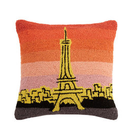 Paris at Sunset Pillow - 16 x 16