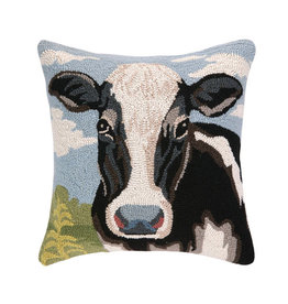 Cow Hook Pillow - 18 x 18