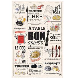 SDE Bon Appetit Dish Towel