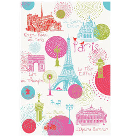 42F Paris Ronds Dish Towel
