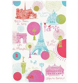 Paris Ronds Dish Towel