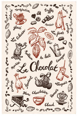 SDE Chocolate Dish Towel