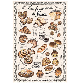 Baked Goods (Les Viennoiseries) Dish Towel