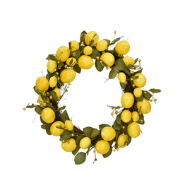 Lemon Leaf Wreath 18""
