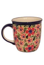 Mug - Red Flowers