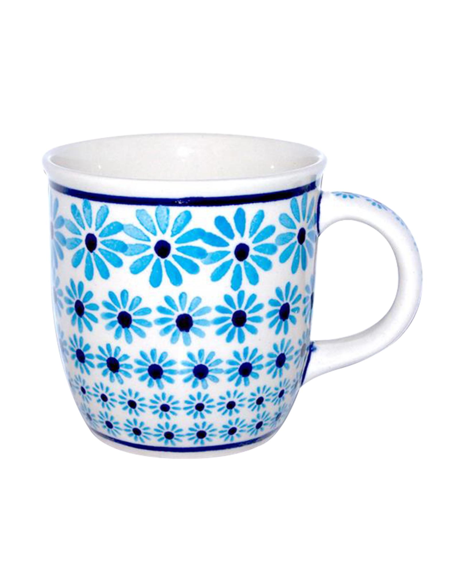 Mug - Turquois Flowers
