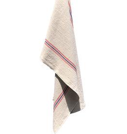 """Charvet Editions Charvet Editions - Bistro/Tea Towel Natural Drapeau - 21""""x30"""""""