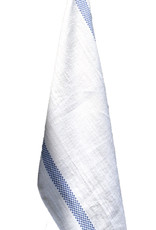 Charvet Editions - Bistro/Tea Towel Lustucru white/blue