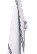 Charvet Editions - Bistro Towel Black & White Lustucru