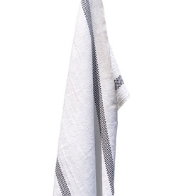 Charvet Editions - Bistro Towel Black & White Lustucru