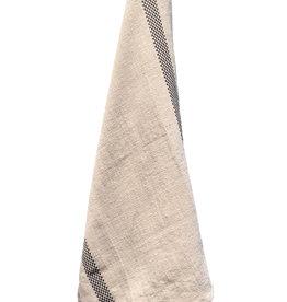"Charvet Editions - Bistro/Tea Towel Natural & Black Lustucru - 18""x30"""
