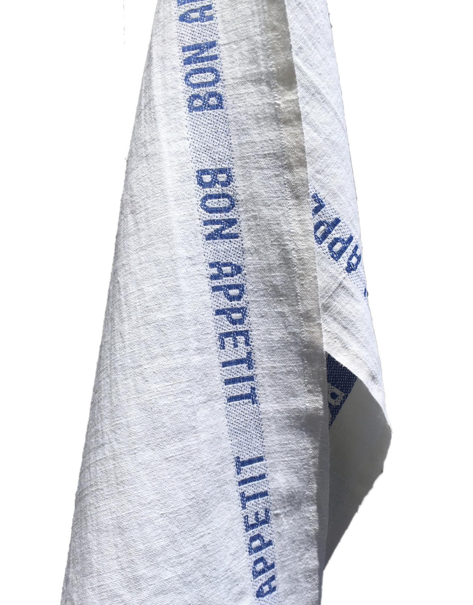Charvet Editions - Bistro/Tea Towel Bon Appetit Blue / White