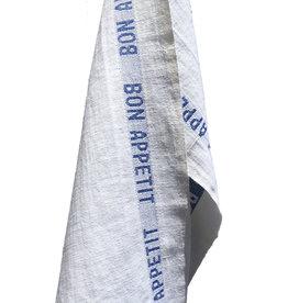 Charvet Editions Charvet Editions - Bistro/Tea Towel Bon Appetit Blue / White