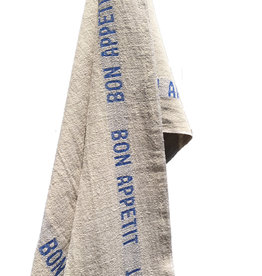 Charvet Editions - Bistro/Tea Towel - Bon Appetit Blue / Natural