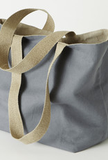 "Charvet Editions - Vintage Bag - Color Gray 19""x22"""