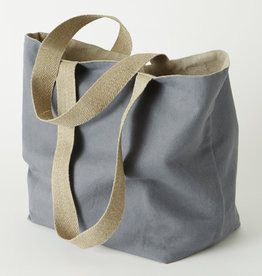 "Charvet Editions Charvet Editions - Vintage Bag - Color Gray 14""x20"""