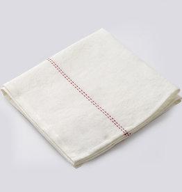 "Charvet Editions Charvet Editions - Red (Rythmo) Napkin - 18""x18"""