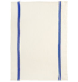 "Charvet Editions - Bistro/Tea Towel Piano Blue - 20""x30"""