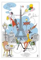 SDE La Parisienne Dish Towel